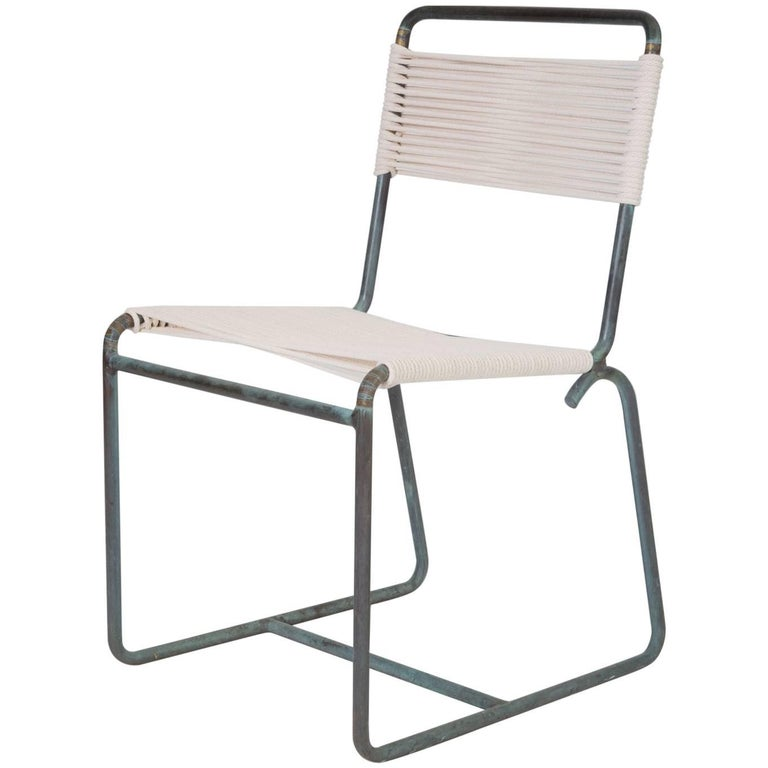 Single Walter Lamb Dining Side Chair For Sale
