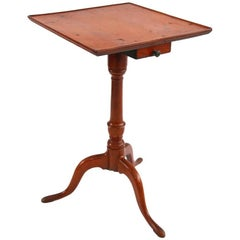 New England Federal Cherry Candlestand