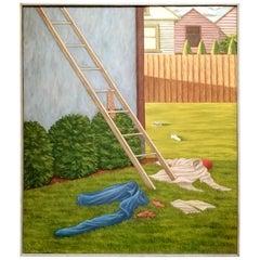 Satirical Painting by Jack Feld