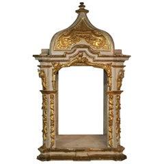 Large 19th Century Spanish Baroque Style Altar