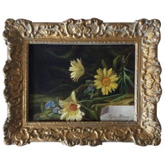 Still Life with Daisies and Forgetmenot
