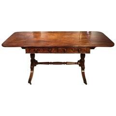 Mahogany William IV Period Antique Sofa Table