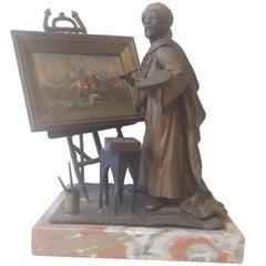 Unique 19th Century Vienna Bronze Figure