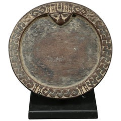 Yoruba Miniature Tribal Divination Plate, Nigeria