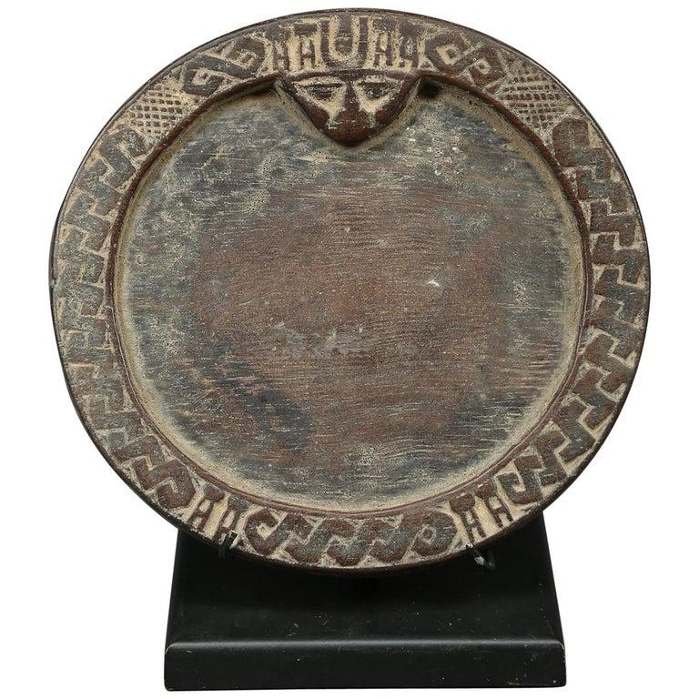 Yoruba Miniature Tribal Divination Plate, Nigeria