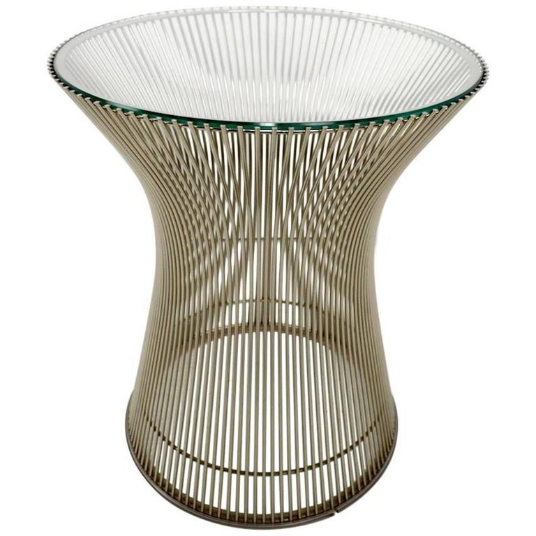 Side Table by Platner For Sale