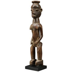 Tribal Lobi Standing Female Figure, Ghana, Africa