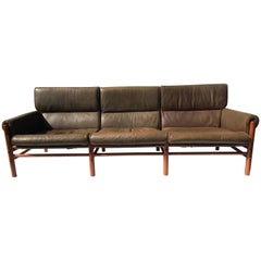 "Arne Norell Safari Sofa ""Kontiki"" Model"