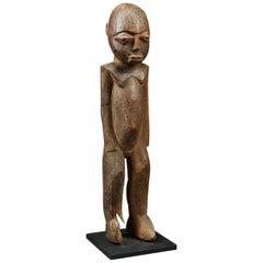 Strong Geometric Lobi Standing Figure, Ghana, Africa