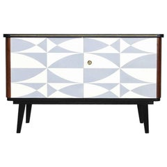 Mid-Century Modern Patterned Cabinet, 1960s