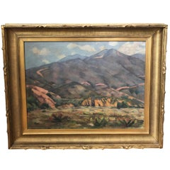 Signed William Sheldon Horton Impressionist Landscape Painting