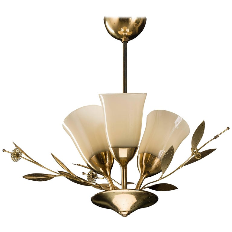 Chandelier in Paavo Tynell Style by Itsu