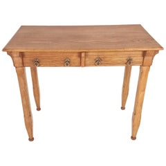 19th Century Arts & Craft Ash Side Table