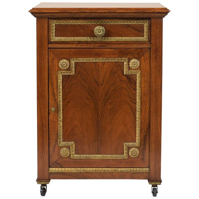19th Century French Louis XVI-Style Nightstand For Sale