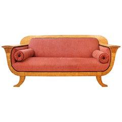 Biedermeier Sofa in Birch