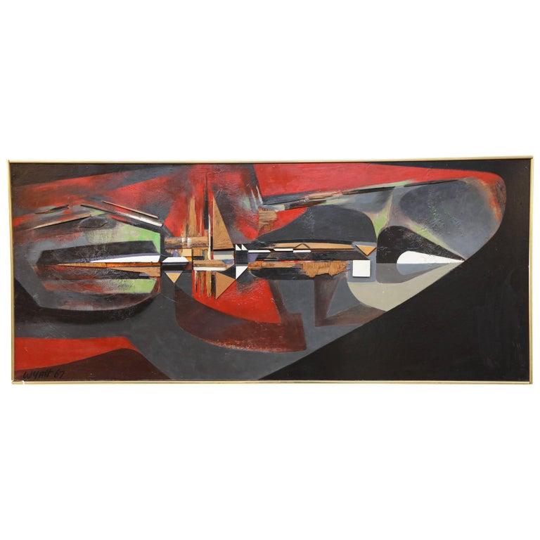 "Leonard Wyatt ""New Metropolis"" Construction on Board For Sale"