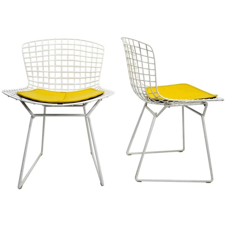 Pair of Bertoia for Knoll Dining Chairs