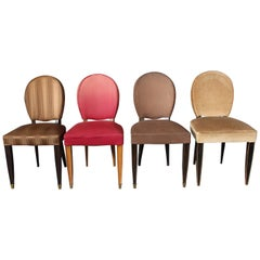 22 Fine French Art Deco Dining Chairs