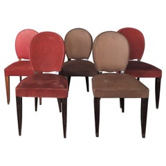 15 Fine French Art Deco Dining Chairs