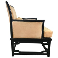 Mid-Century Modern Bergere Chairs