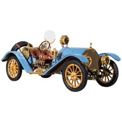 1913 Mercer 35J Raceabout, Exceptional 1/8 Scale Model by Sapor Modelltechnik