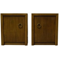 Pair of T.H. Robsjohn-Gibbings for Widdicomb Nightstands