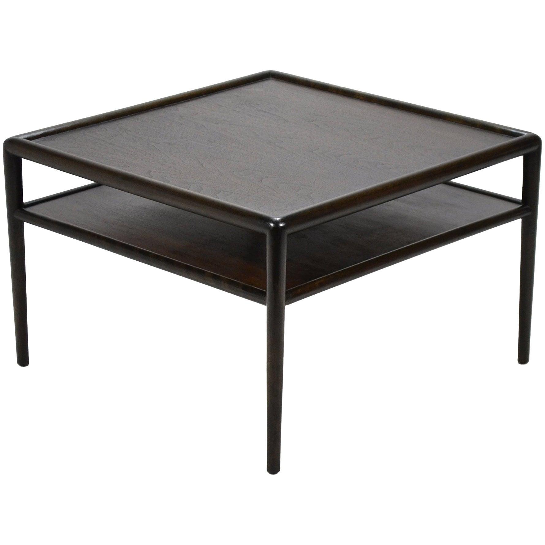 T.H. Robsjohn-Gibbings Two-Tiered Table by Widdicomb