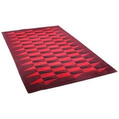 Large 1970s Danish Carpet