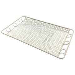 Mathieu Mategot Perforated Metal Barware Serving Tray