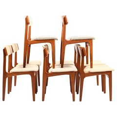 Set of Eight Dinner Chairs by Thorsø Stolefabrik
