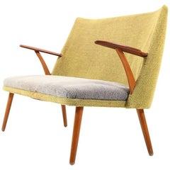 Early Danish Two-Seat Sofa, 1950s
