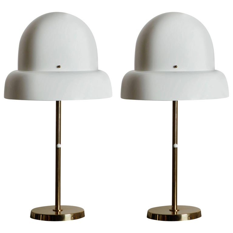 Pair of Table Lamps by Bergboms