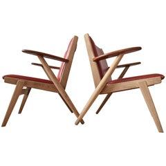 Danish Midcentury Arne Wahl Iversen nr.14 Lounge Chairs, 1955