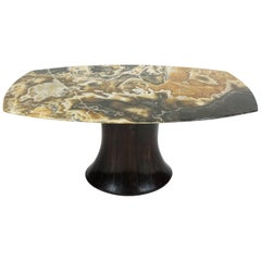 Important Osvaldo Borsani, Atelier Borsani Onyx Coffee Table