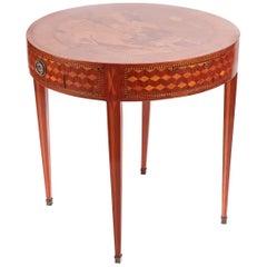 Fantastic Antique Inlaid Satinwood Centre Table