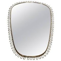 Brass Mirror Design by Josef Frank for Svenskt Tenn