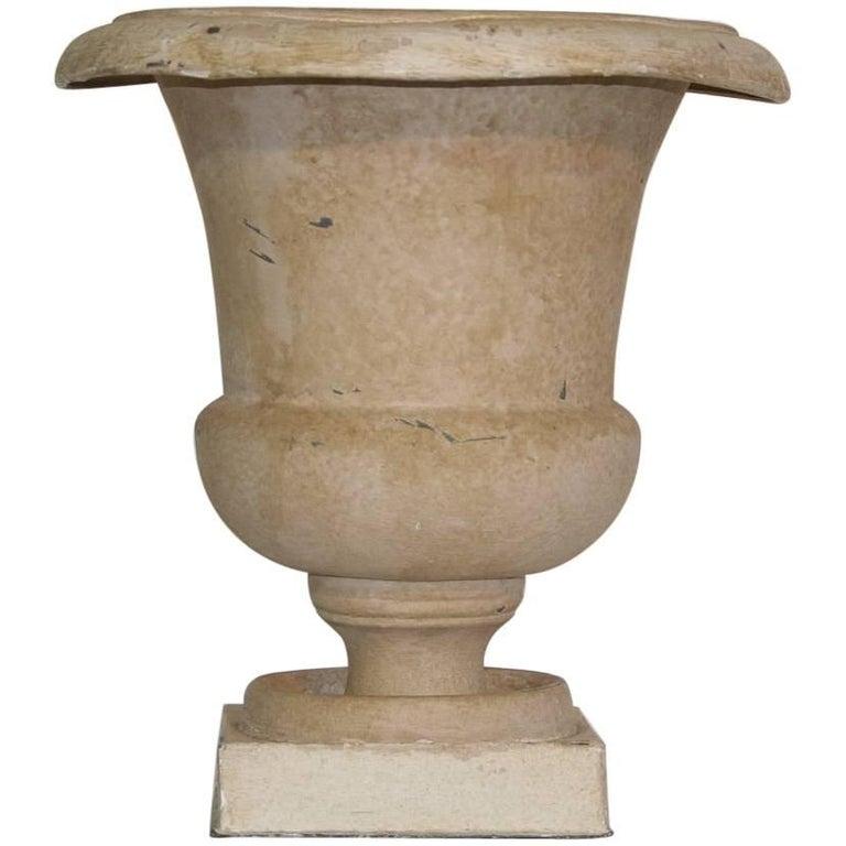 French Zinc Medici Vase, 19th Century