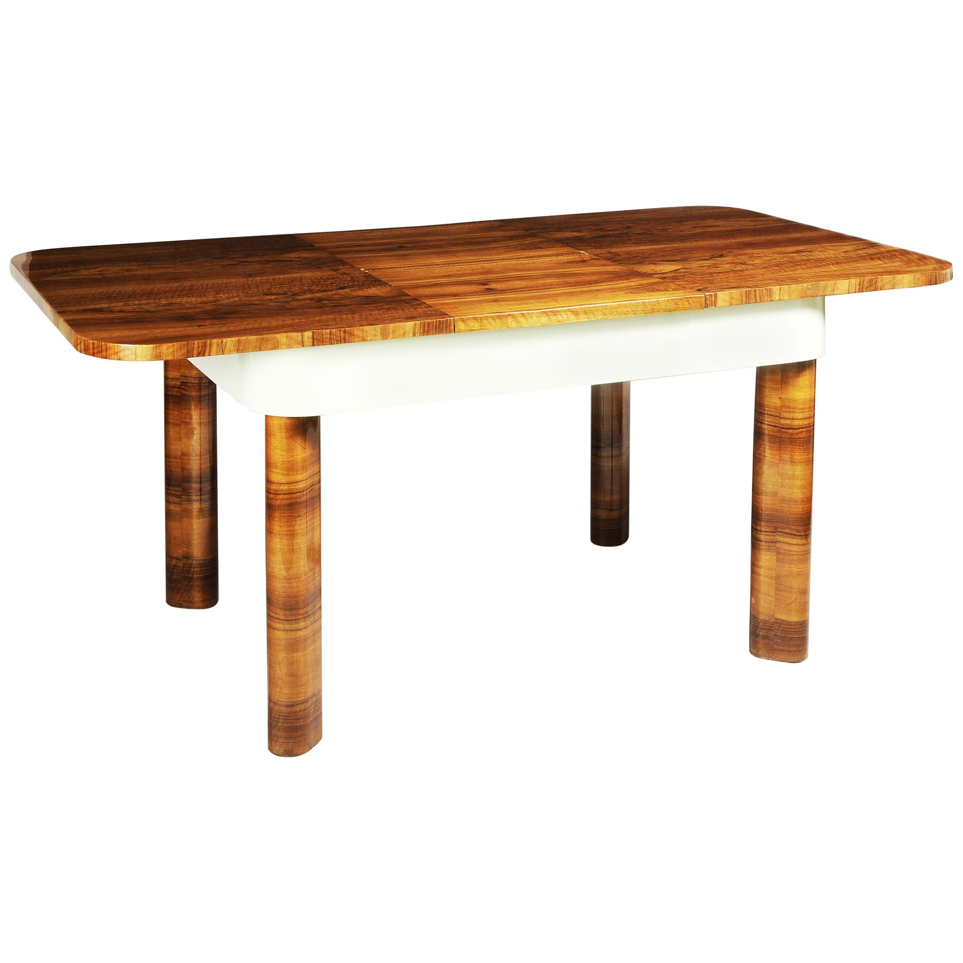 Unique Large Functionalism Extendable Dining Table