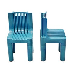 Marco Zanuso Plastic Kids Chair Kartell, 1964
