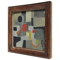 Joao Perez Abstract Modern Painting, 1955