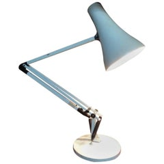 White Anglepoise Lamp Designed by George Carwardine for Herbert Terry