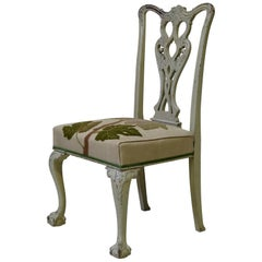 French 19th Century Painted Chippendale Chair