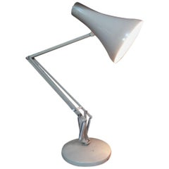 Grey Anglepoise Lamp Designed by George Carwardine for Herbert Terry