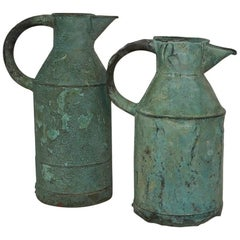 Pair of 19th Century, French Copper Water Jugs
