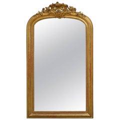 Fabulous 19th Century French Gilt Mirror