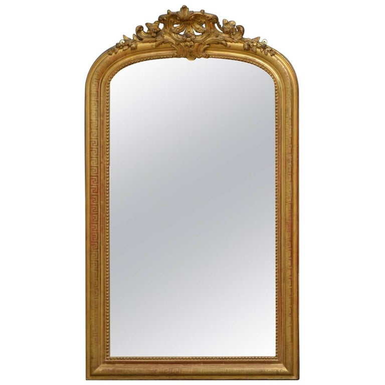 Fabulous 19th Century French Gilt Mirror
