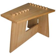Studio Puzzle Table in Oak