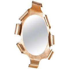 Hollywood regency Gaudi Style Gilt Mirror