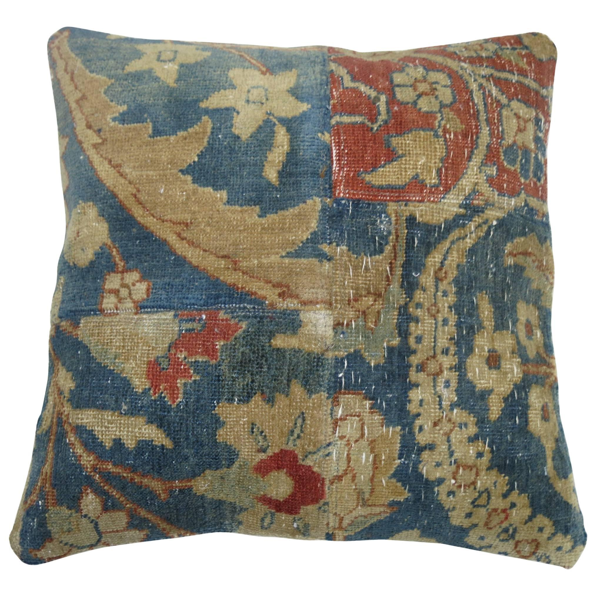 Tabriz Patchwork Rug Pillow