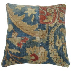 Tabriz Patchwork Rug Pillow